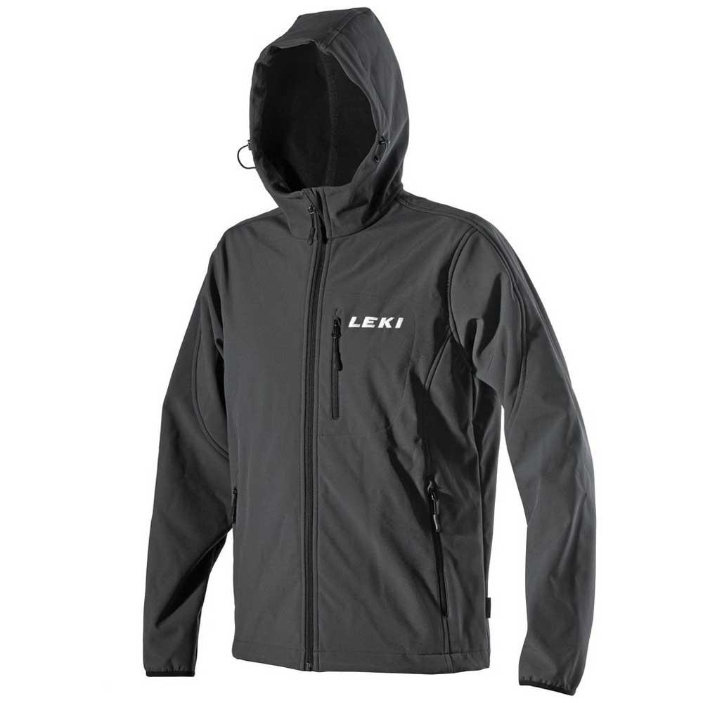 Leki Softshell Jacket Hooded Men