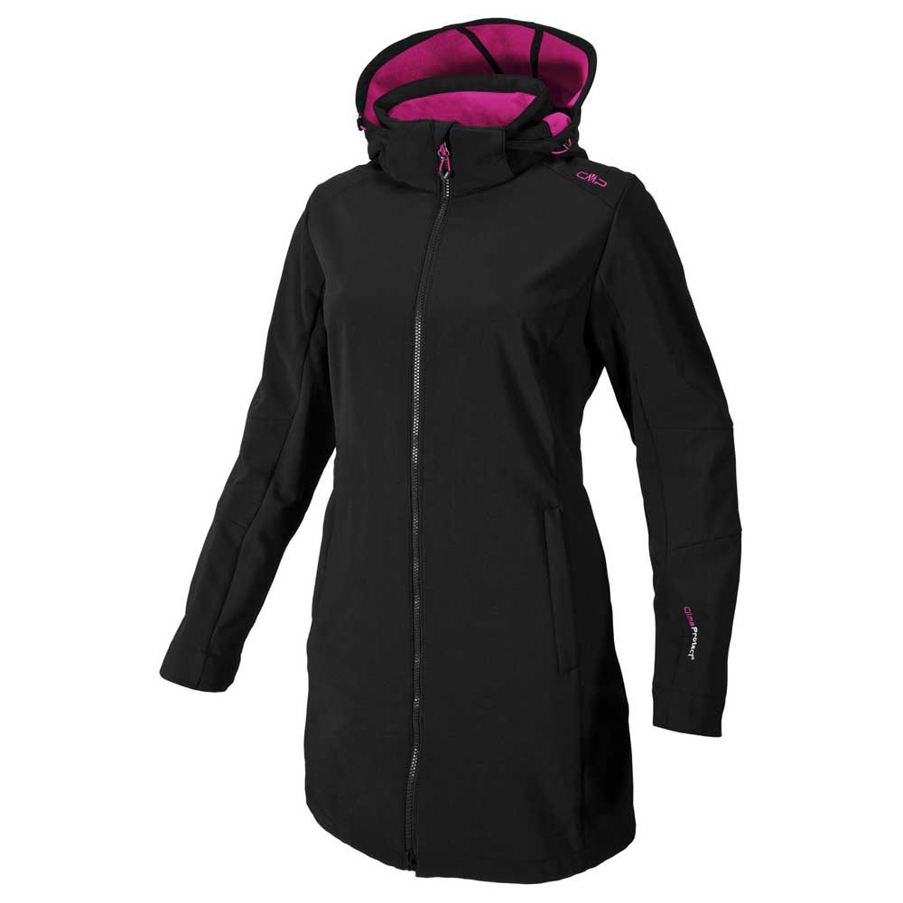 Cmp Zip Hood Softshell Coat