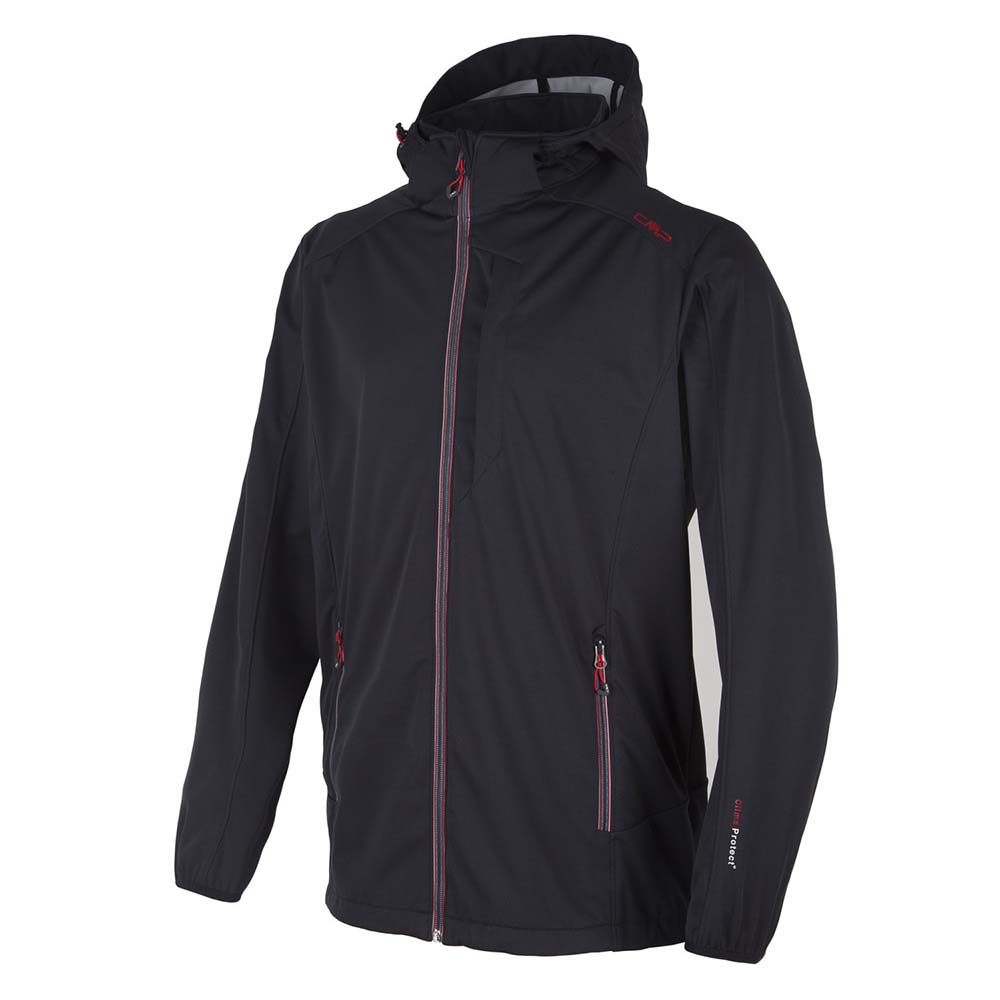 Cmp Light Softshell Zip Hood