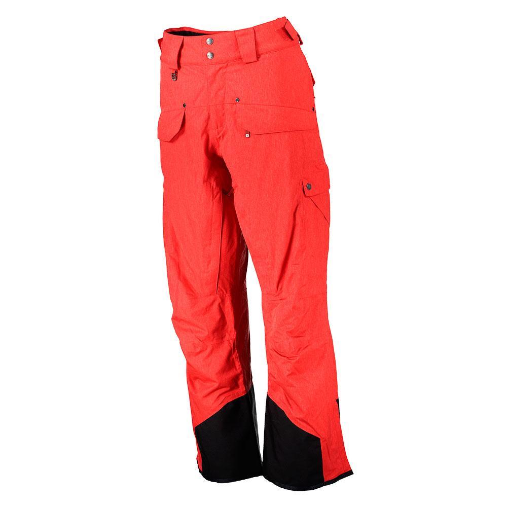 745d22180537 Salomon Chill Out Bib Pants Regular Red