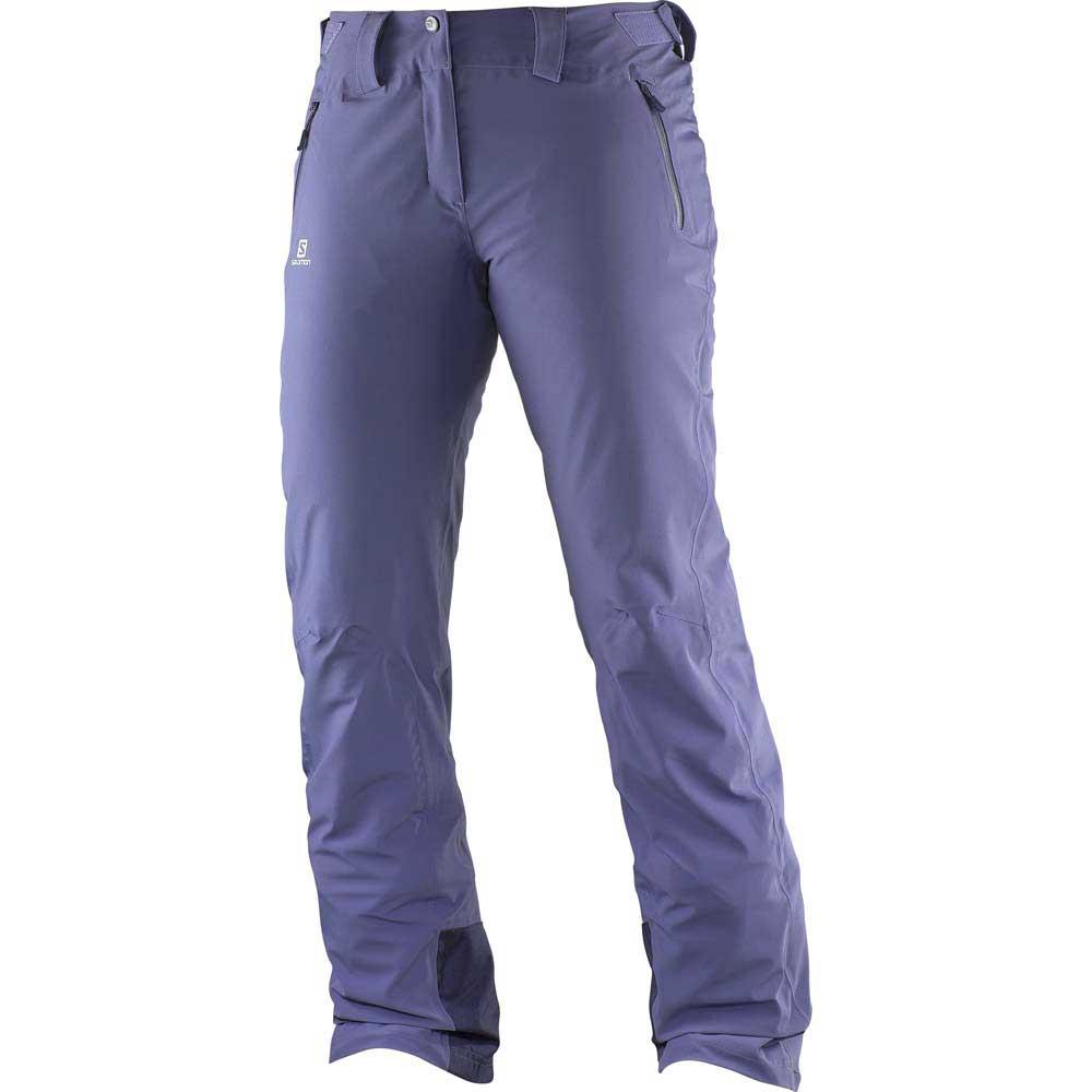Salomon Iceglory Pants Regular Grå kjøp og tilbud, Snowinn