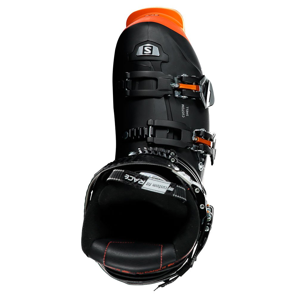 Salomon X Pro 130 Custom Shell Mens Ski Boots in BlackOrange