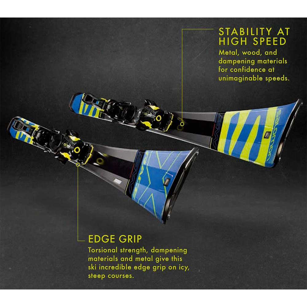 graduado sobre Una herramienta central que juega un papel importante.  Salomon X-Race SW+Z12 Speed Blue buy and offers on Snowinn