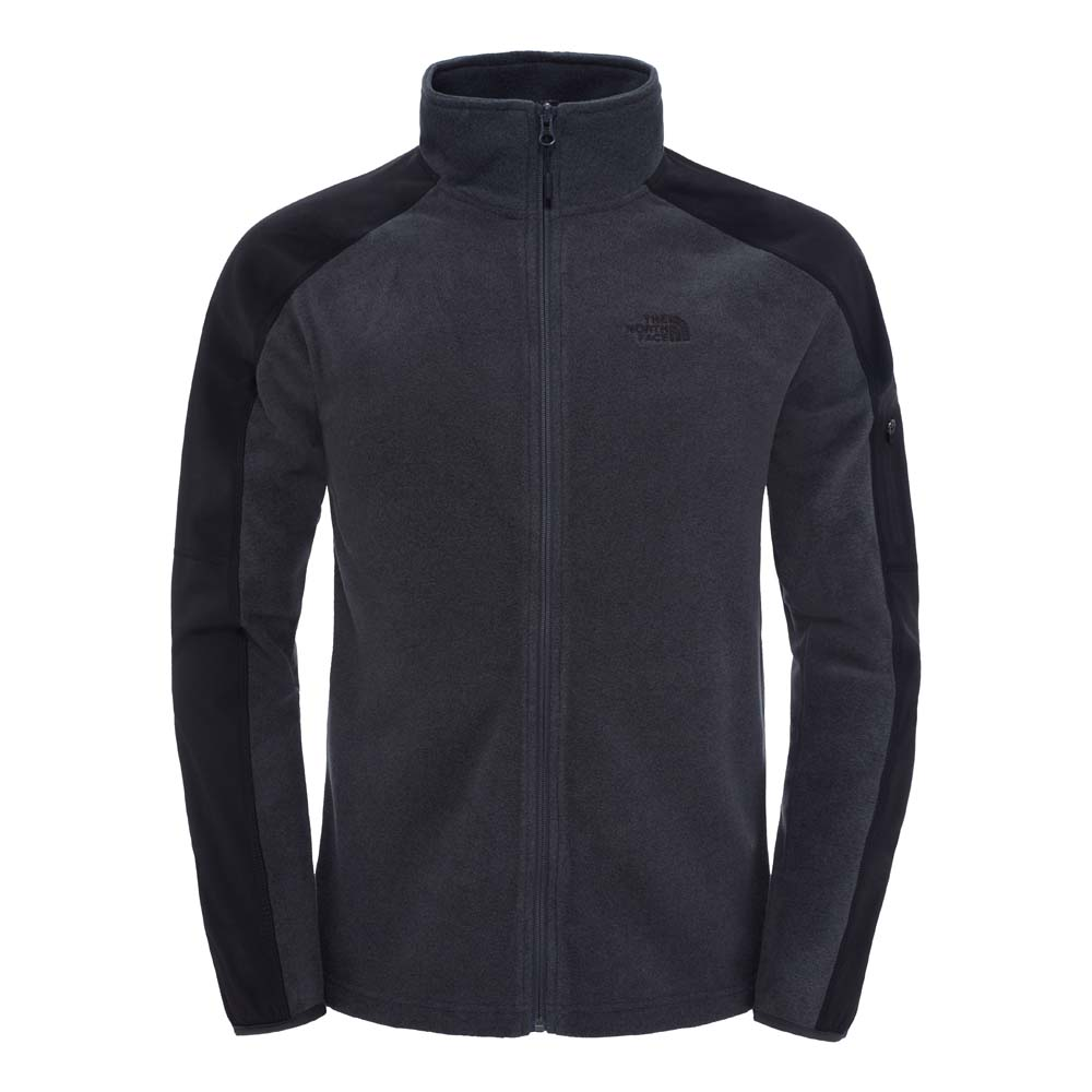 cff405eadeff5 The north face Glacier Delta Full Zip Black