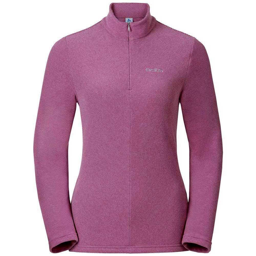 fleece-odlo-roy-midlayer-1-2-zip-xxl-winterrose-sangria-stripes