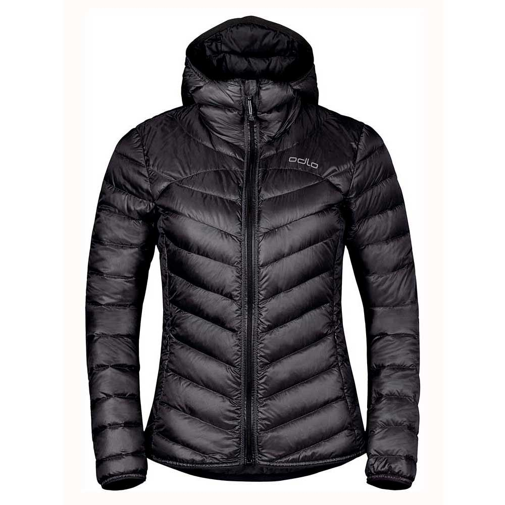 jacken-odlo-hoody-air-cocoon-l-black