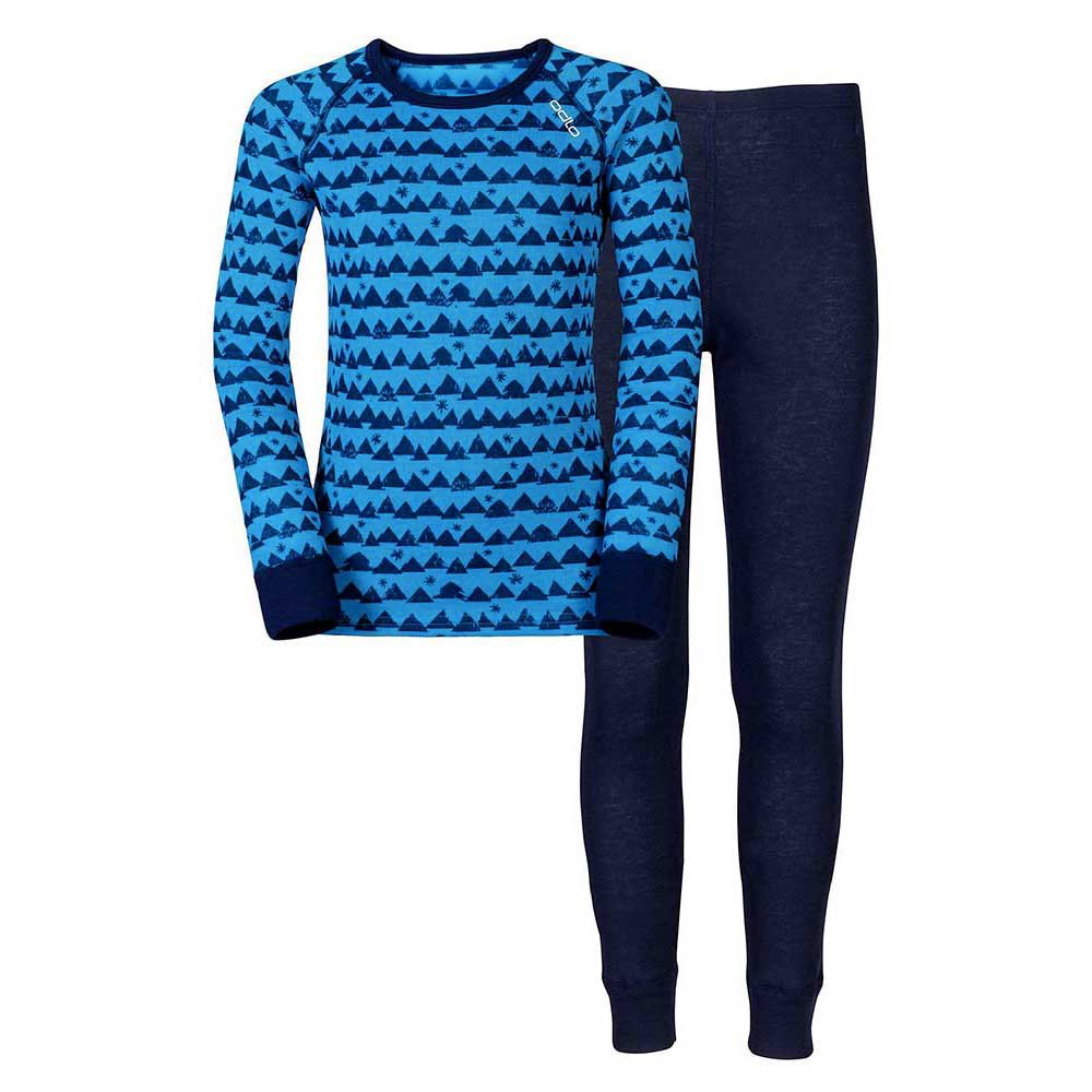 Odlo Set Warm Kids Shirt L/S Pants Long