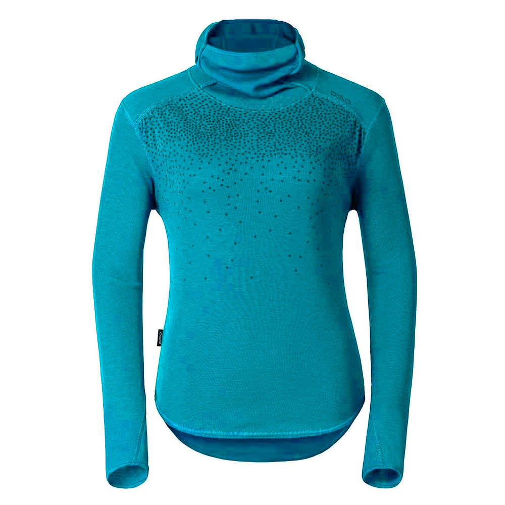 Odlo Shirt L/S With Facemask Vallee Blanche Warm