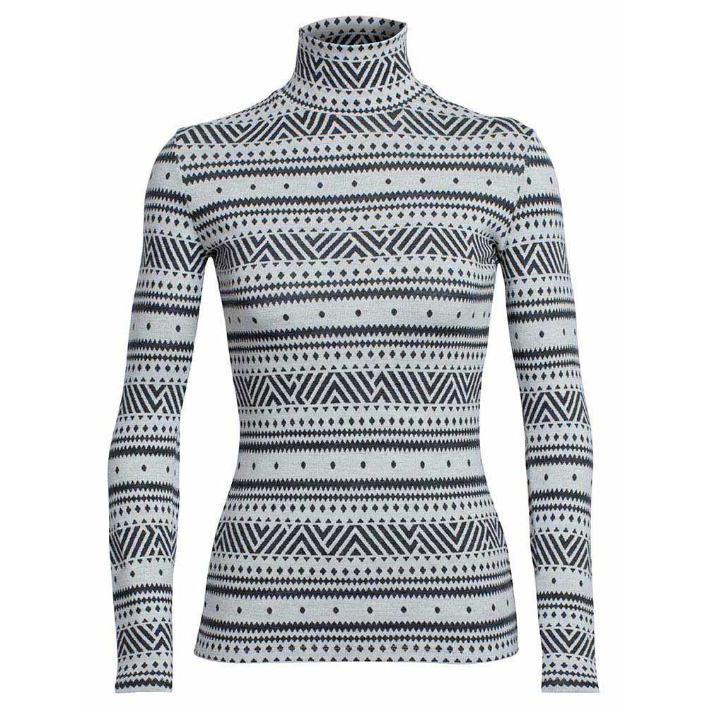 Icebreaker Vertex L/S Turtleneck Icon Fairisle