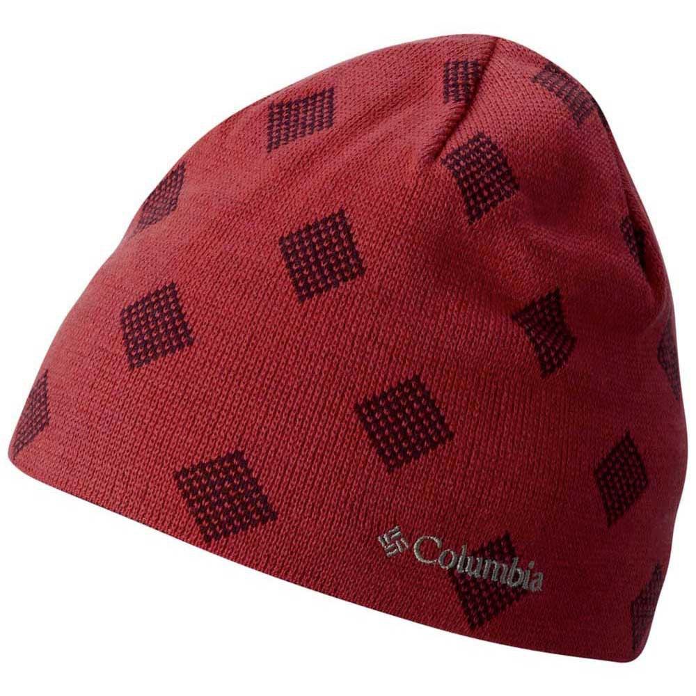 cefe311e399 Columbia Urbanization Mix Beanie Afterglow Stripe Red