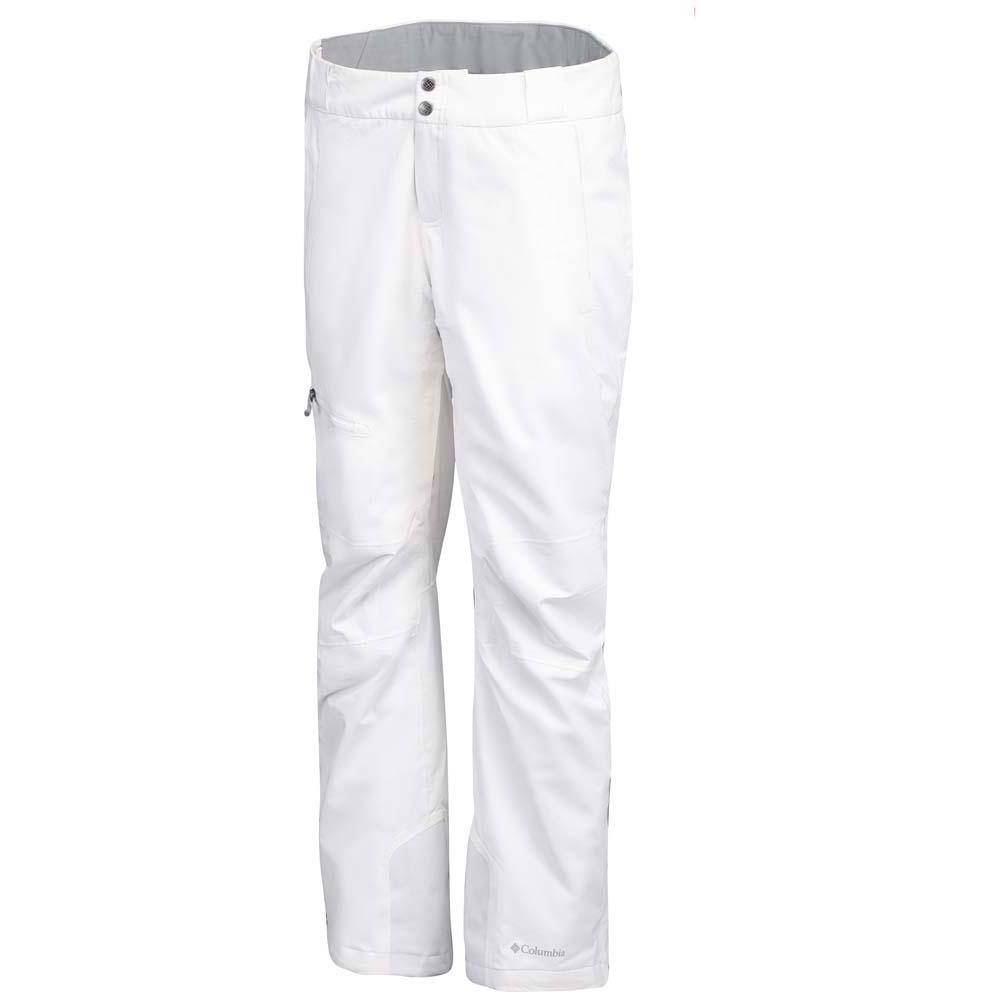 Columbia Millennium Blur Regular Pants Blanc, Snowinn