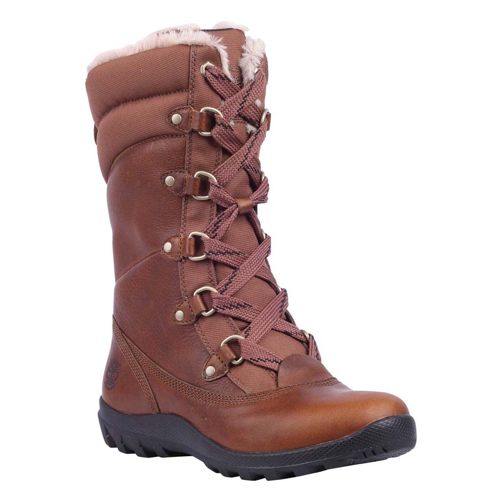 da9d425423e Timberland Mount Hope Mid Fabric Leather Waterproof Wide