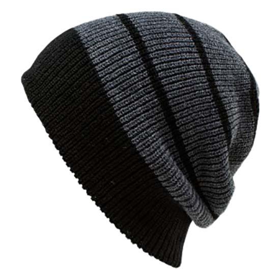 e4eb9937120 Volcom Mod Stripe Beanie Black buy and offers on Snowinn