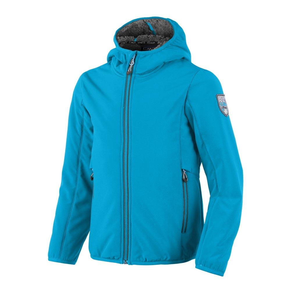 Cmp Girl Softshell Fix Hood Print