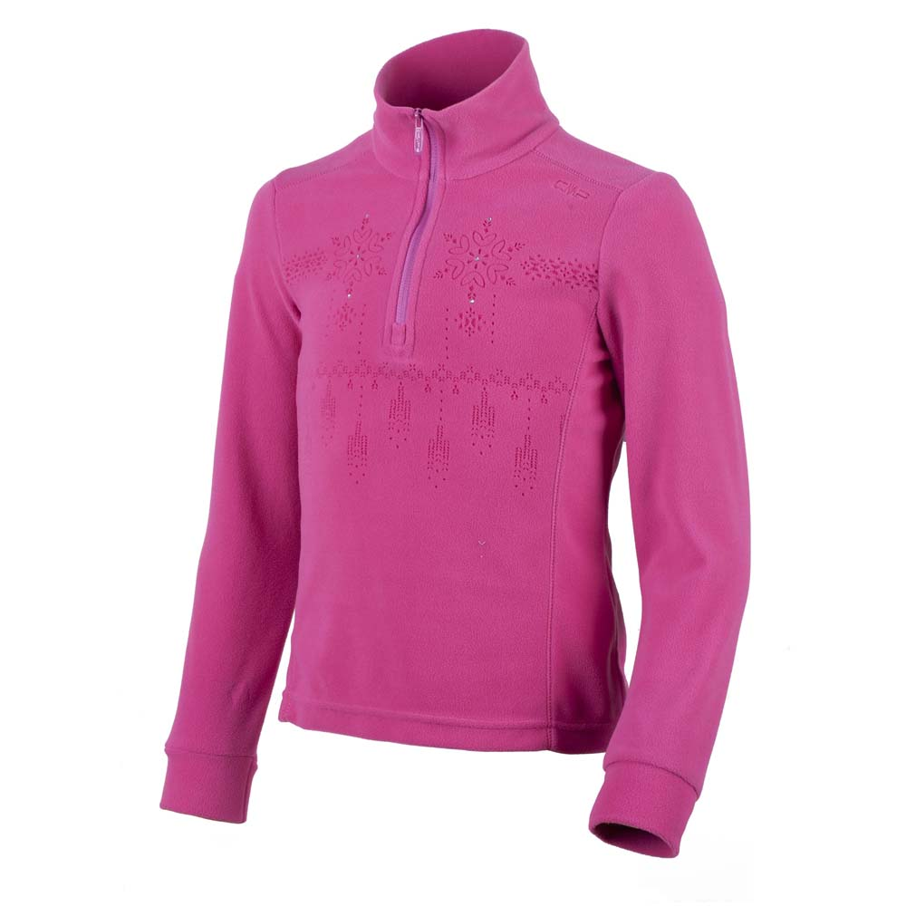 Cmp Girl Light Fleece Sweat 1/2 Zip