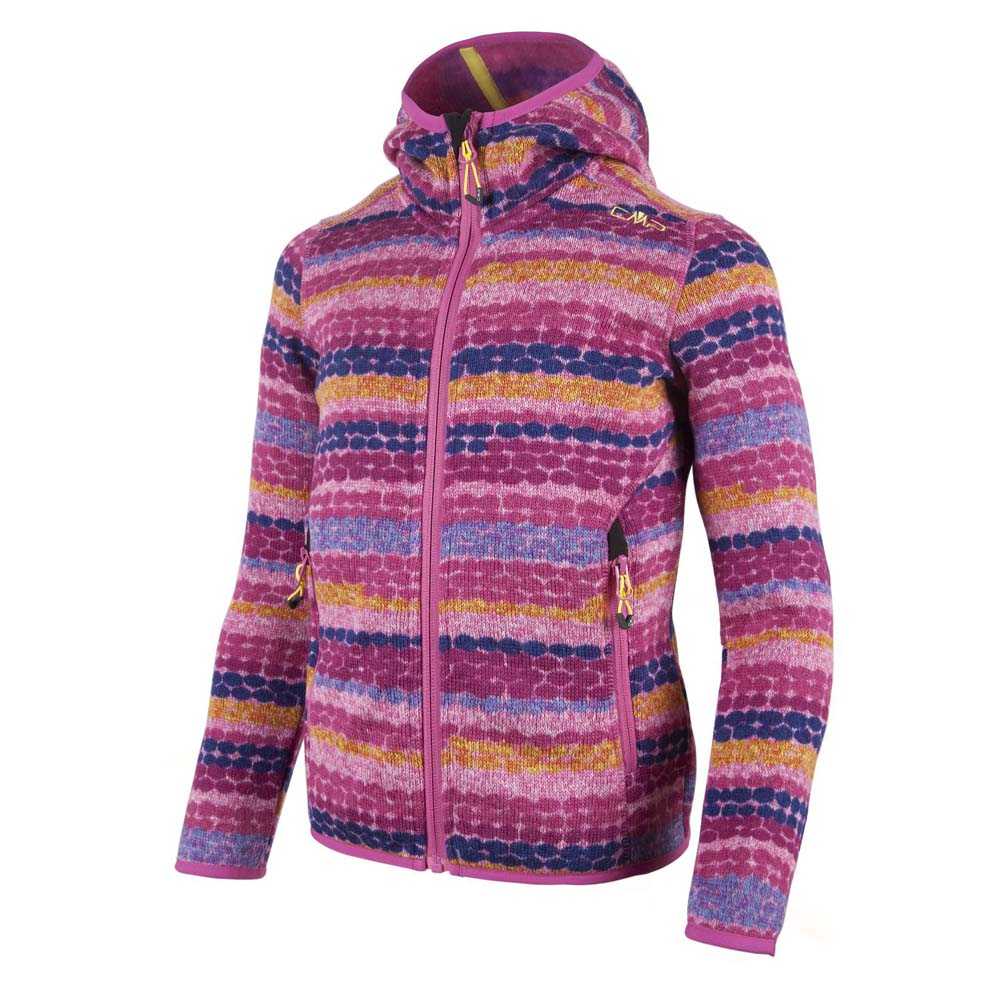 Cmp Knitted Fix Hood Girls