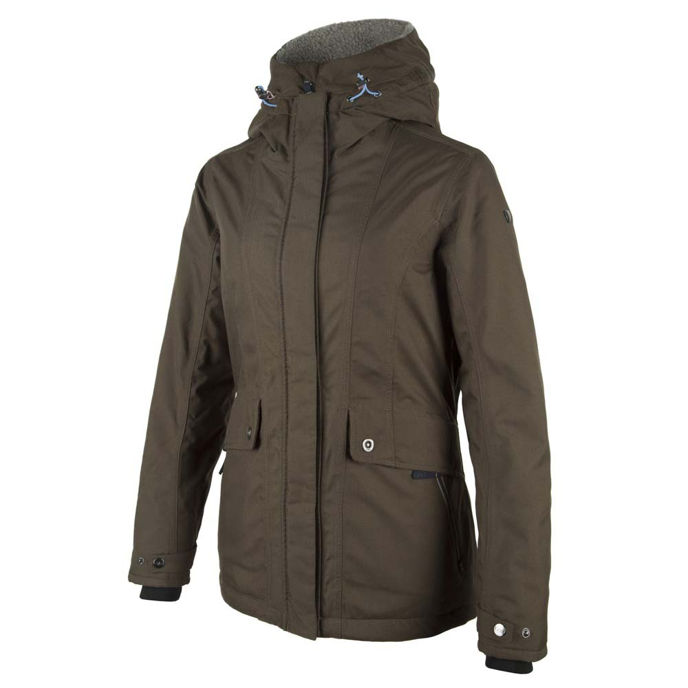 Cmp Outdoor Fix Hood Jacket Eco Fur