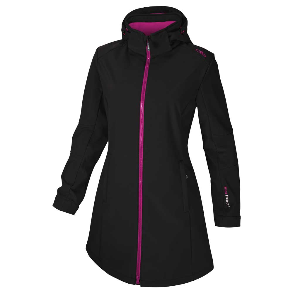Cmp Softshell Zip Hood Coat