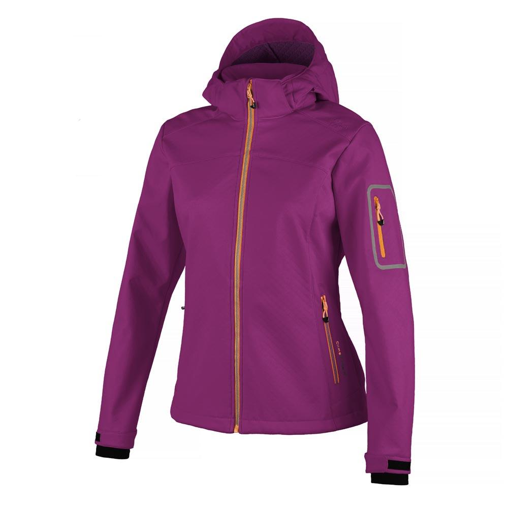 Cmp Softshell Zip Hood Jacket