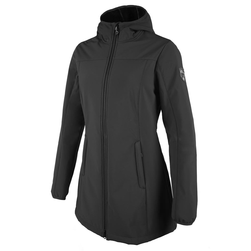 Cmp Softshell Fix Hood Coat