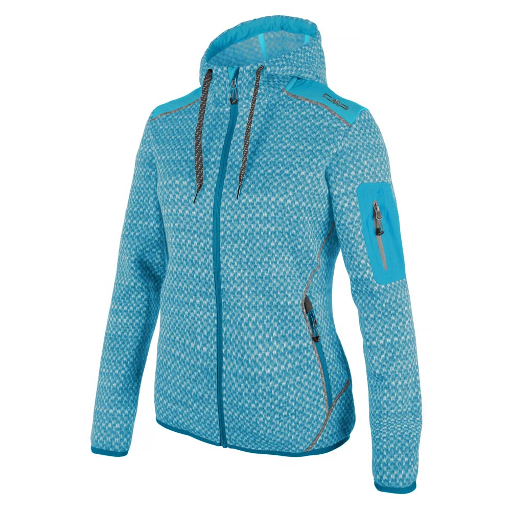Cmp Knitted Fix Hood Print