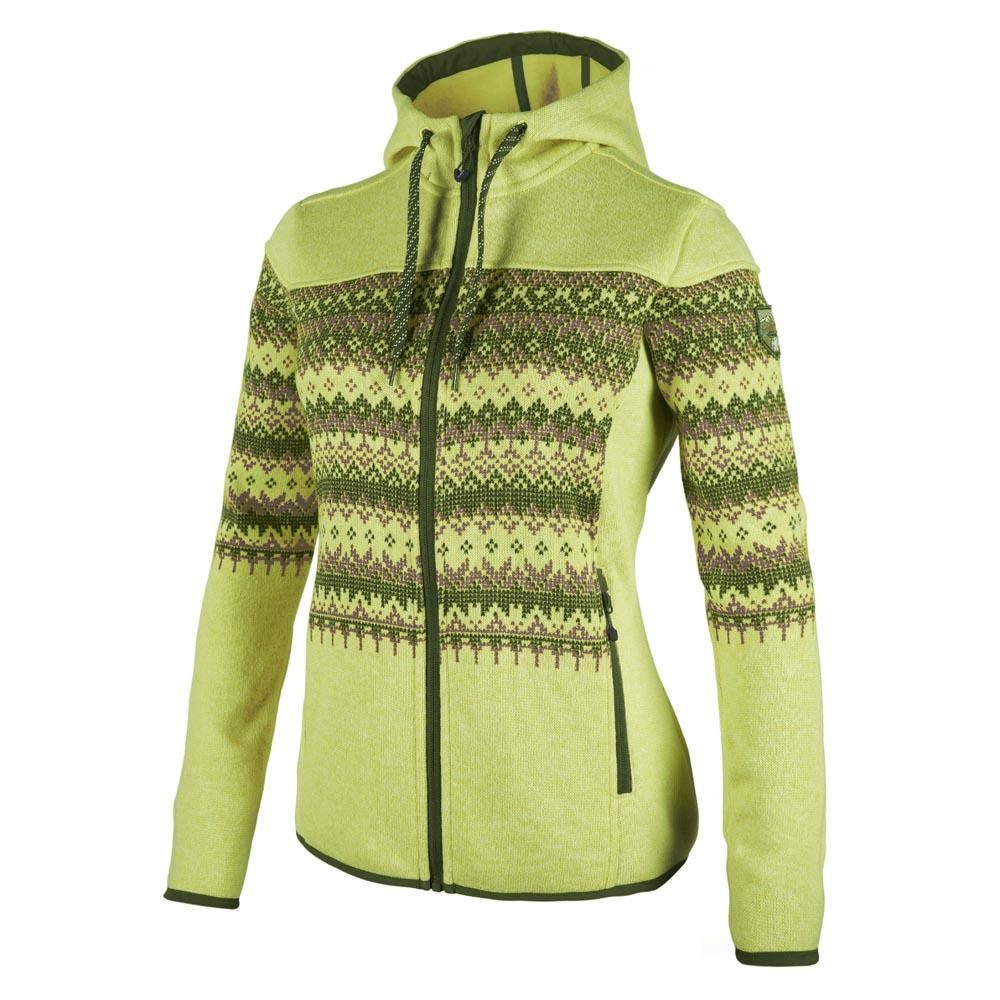 Cmp Fleece Jacket Fix Hood Full Zip