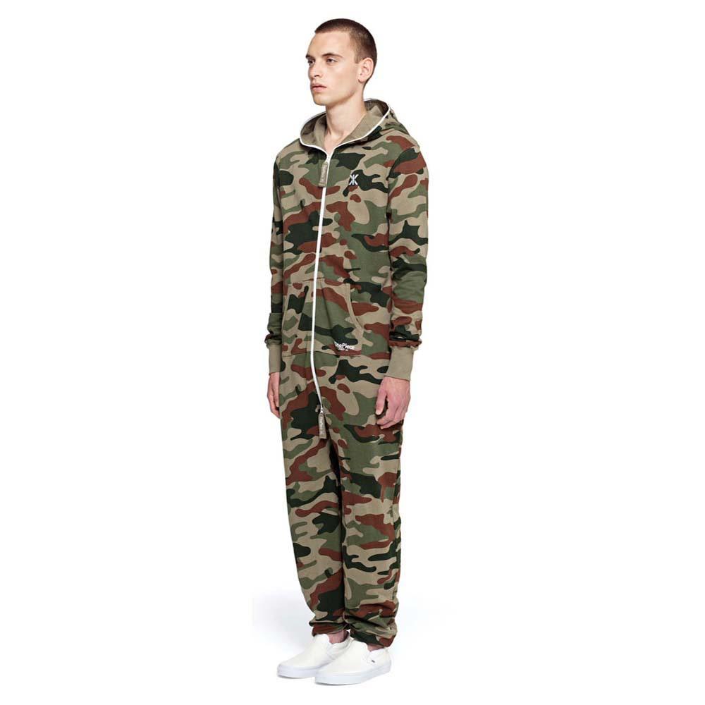 fae9ada4dd80 Onepiece Camouflage Jumpsuit Зеленый