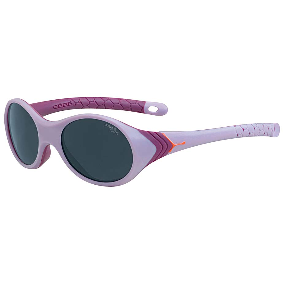 Cebe Kanga 1 To 3 Yrs Kids Sunglasses (pink Frame With 1500 Grey Blue Light Lens) ysWcK9O