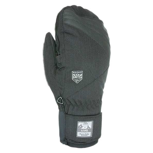 e198589a48221 Level Stealth Mitt Black buy and offers on Snowinn
