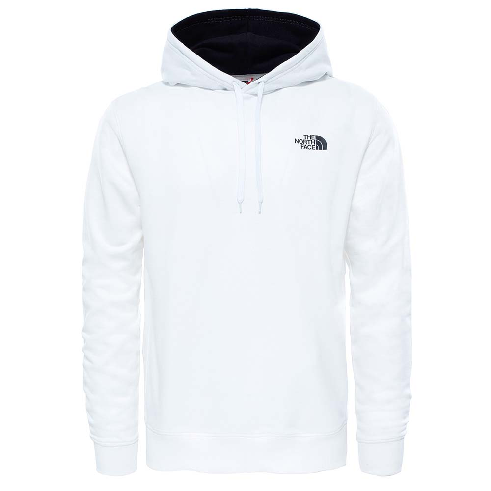 1969d03de0458 The north face Seasonal Drew Peak Pullover Light Blanco