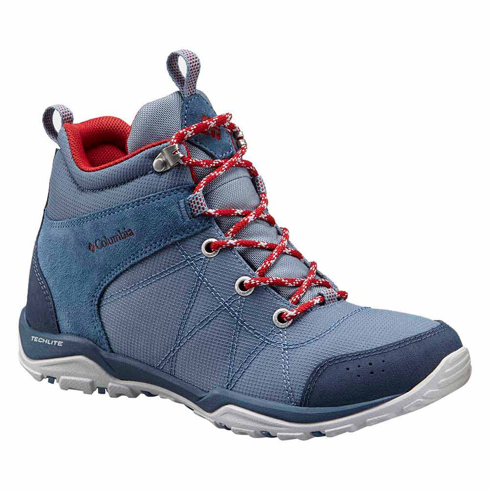 Casual Columbia Fire Venture Mid Textile oLzbW