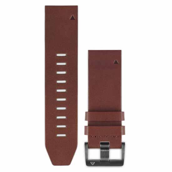 ersatzteile-garmin-quickfit-fenix-5-leather-strap-one-size-brown