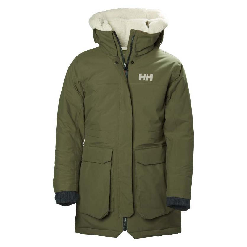 85e281333 Helly hansen Vilde Parka Green buy and offers on Snowinn