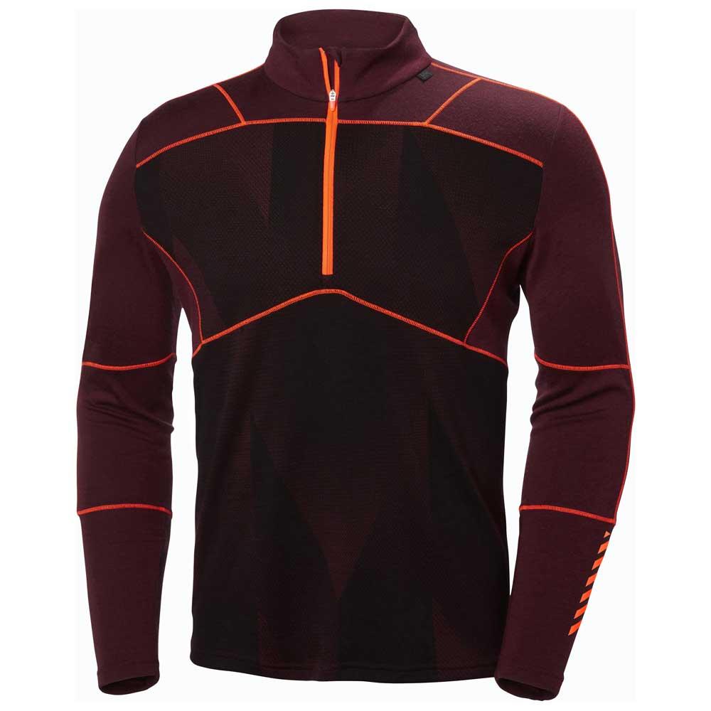 86f34167 Helly hansen Lifa Merino Max 1/2 Zip Rød, Snowinn T-skjorter