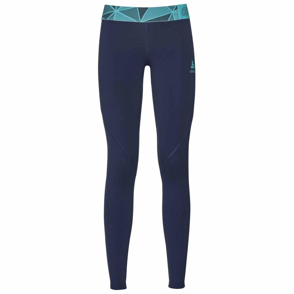 Sportlegging Kopen.Odlo Ceramicool Pro Pants Blauw Kopen En Aanbiedingen Snowinn
