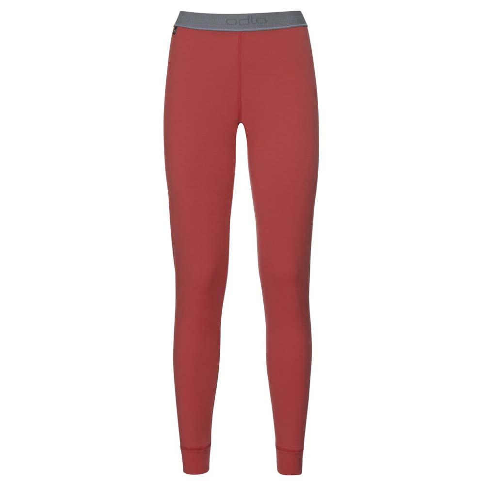 f0a94322f63 Odlo Natural 100% Merino Warm Pants Red