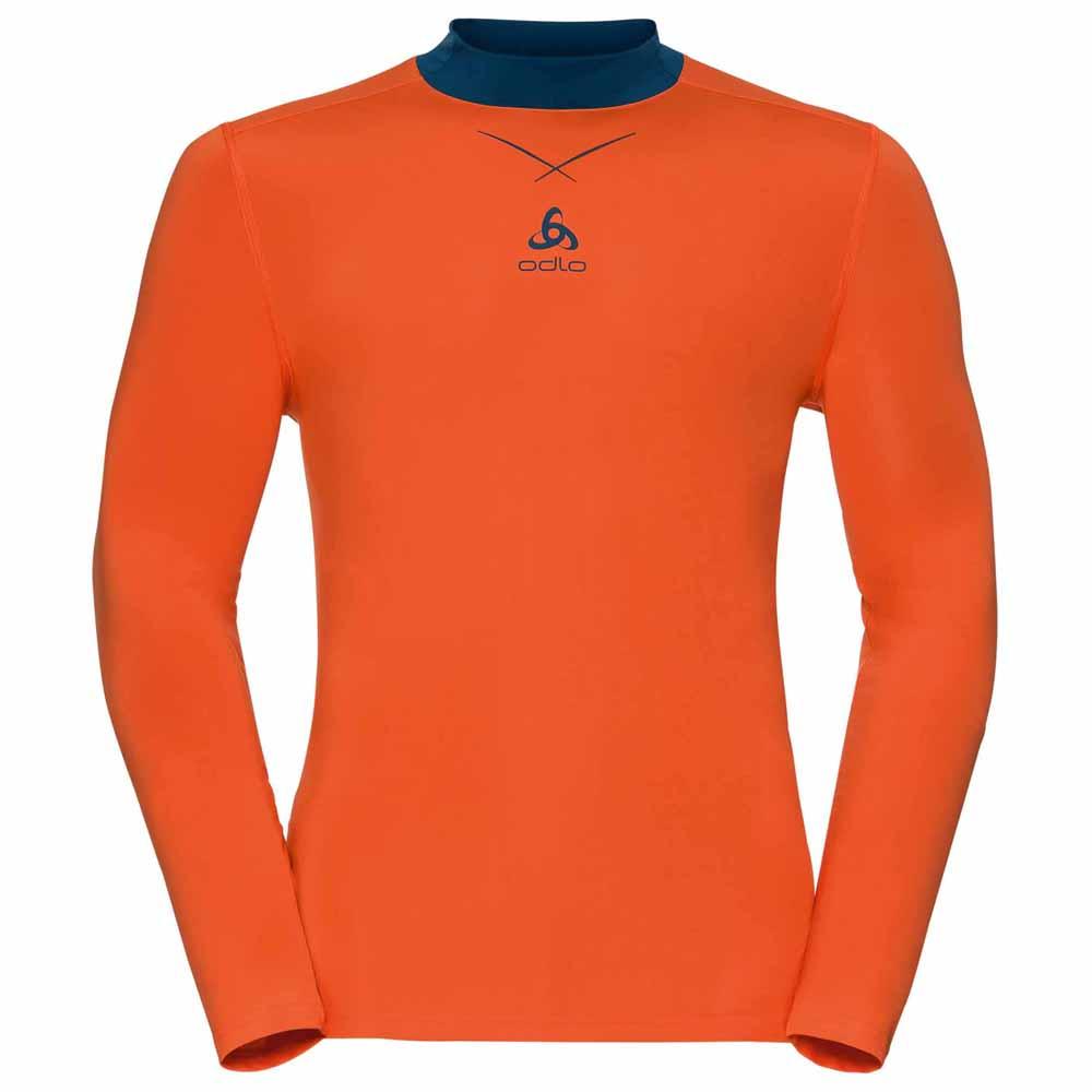 ODLO Mens Singlet Crew Neck Ceramicool Seamless Shirt