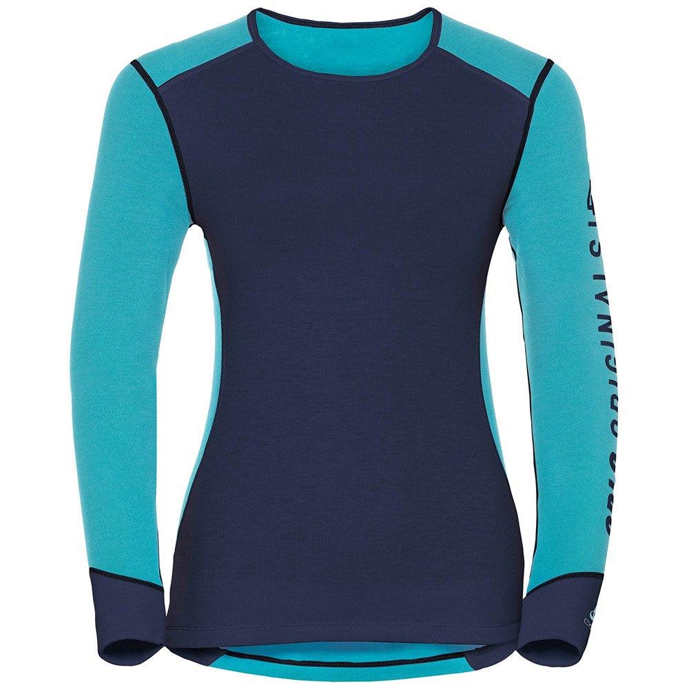 t-shirts-odlo-warm-revelstoke-shirt-l-s-crew-neck