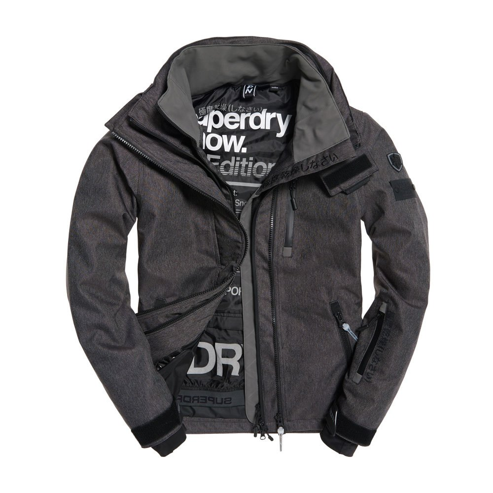 63e29c1193d2 Superdry Snow Wind Bomber Grey buy and offers on Snowinn