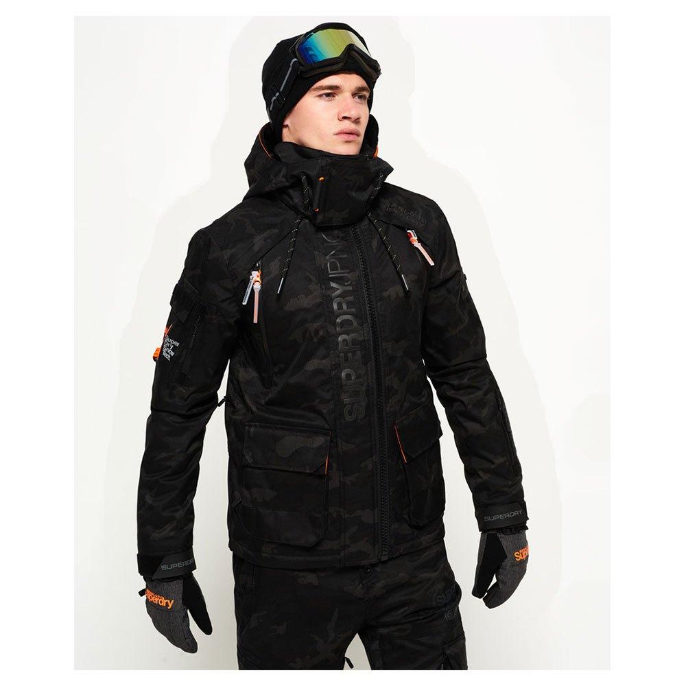 166d4c9ce5087 Superdry Ultimate Snow Rescue Jacket Black, Snowinn