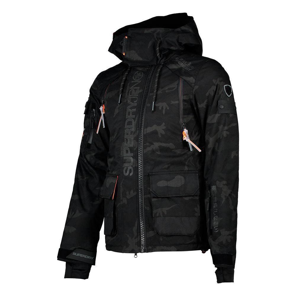Superdry Ultimate Snow Rescue Jacket Black Snowinn