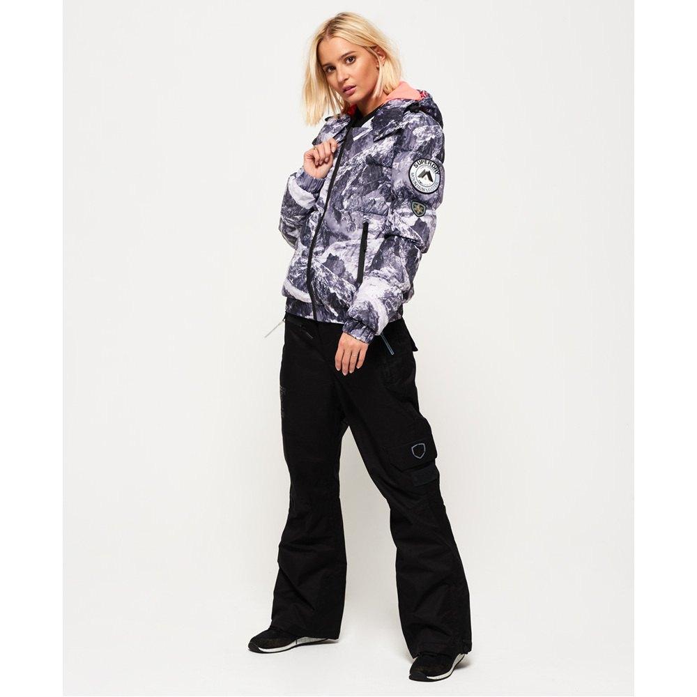 Superdry Veste De Ski Mountain Bomber Cliff Face pas