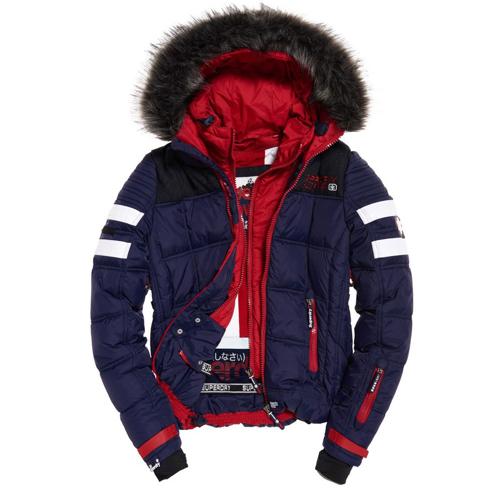 150deec214 Superdry Gt Racer Jacket Multicolor buy and offers on Snowinn
