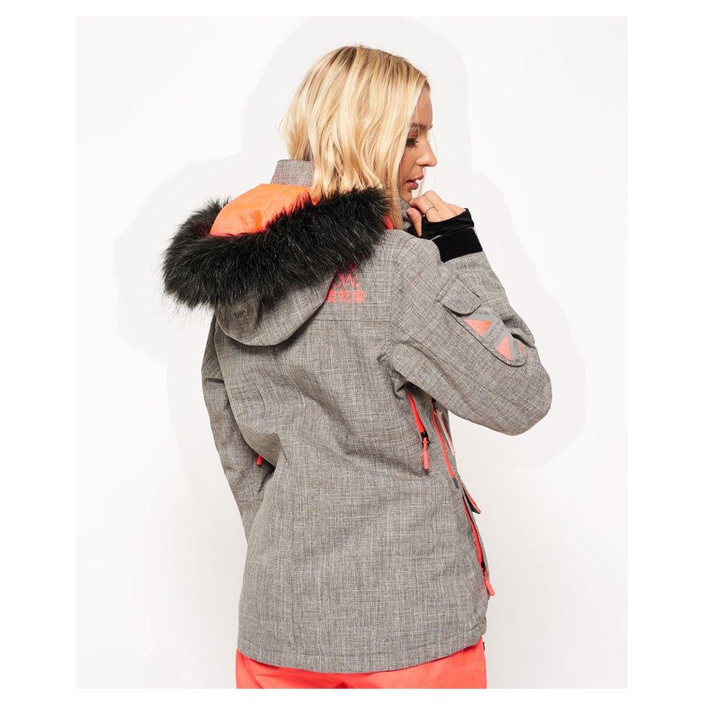 eff40bd3a2488 Superdry Ultimate Snow Service Jacket Grey, Snowinn