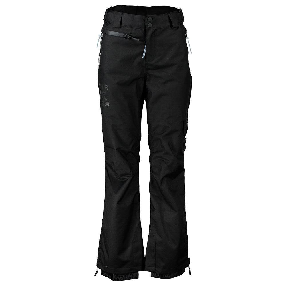 hosen-superdry-snow-pants-l-black