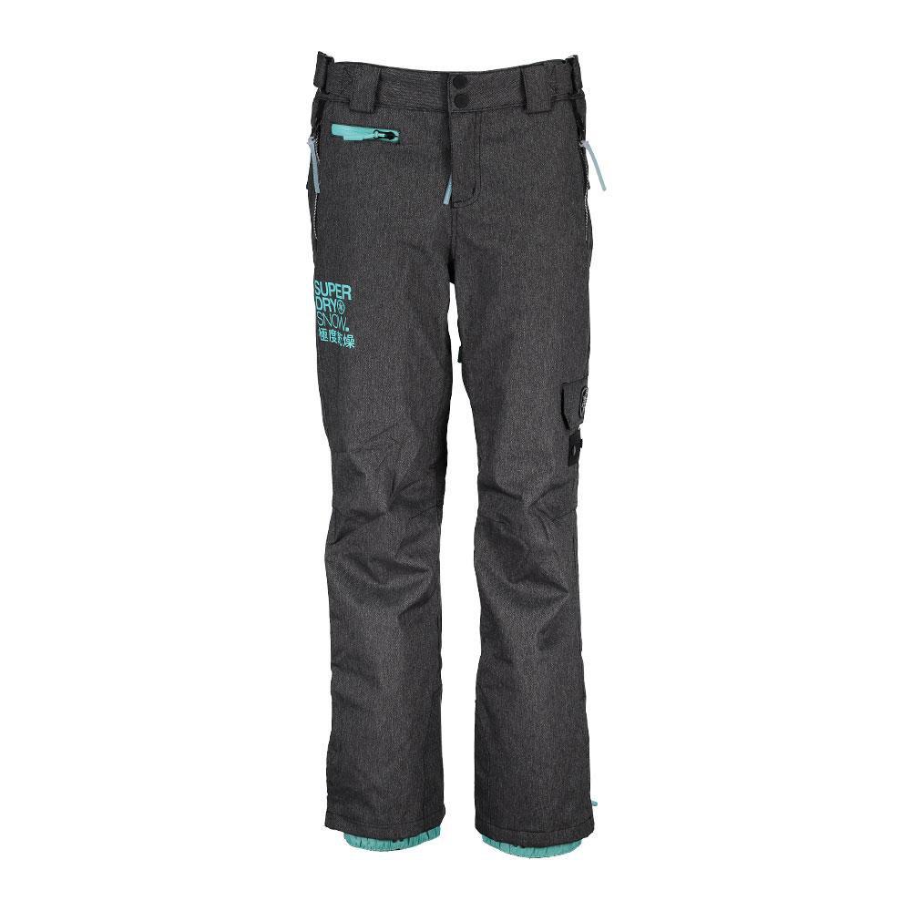hosen-superdry-snow-pants-l-black-grit