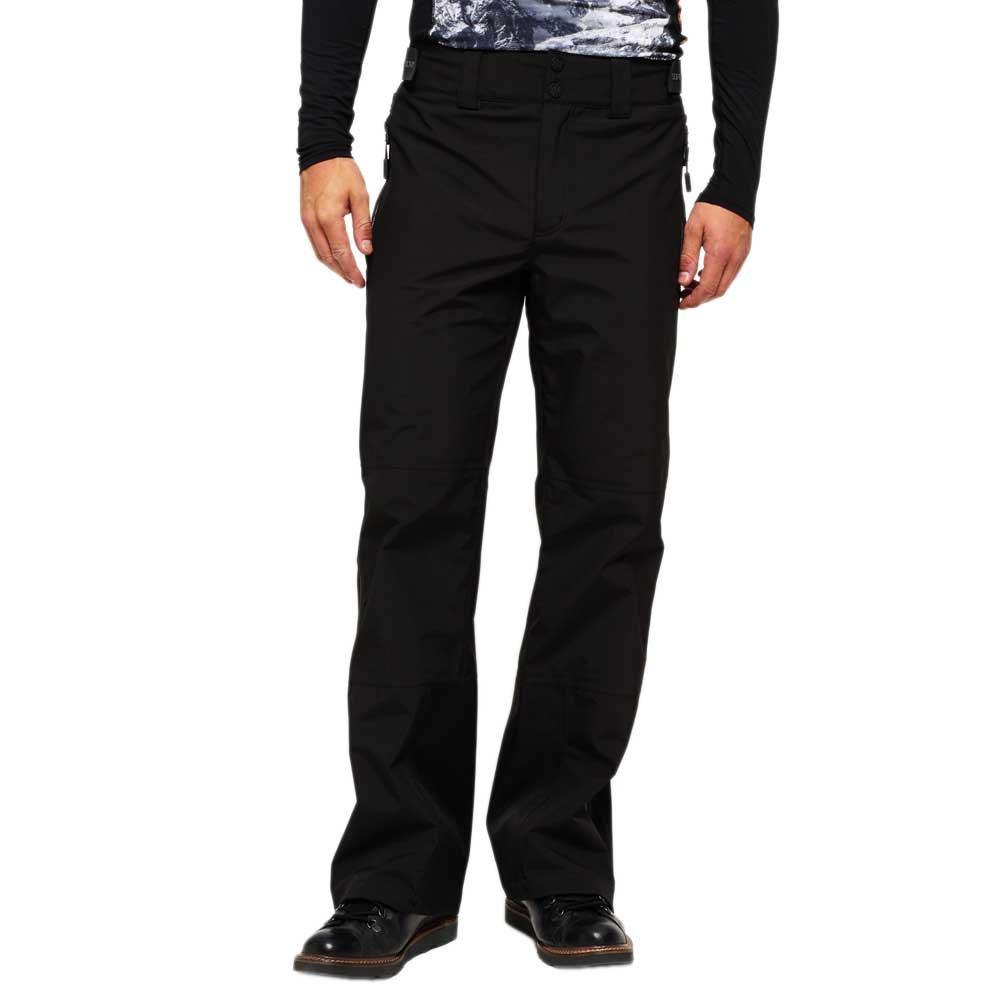 hosen-superdry-basejumper-pants-m-black
