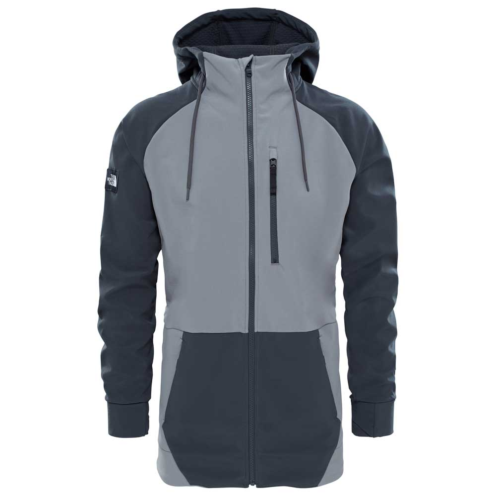 155145c37a8 The north face Longtrack Softshell Grey