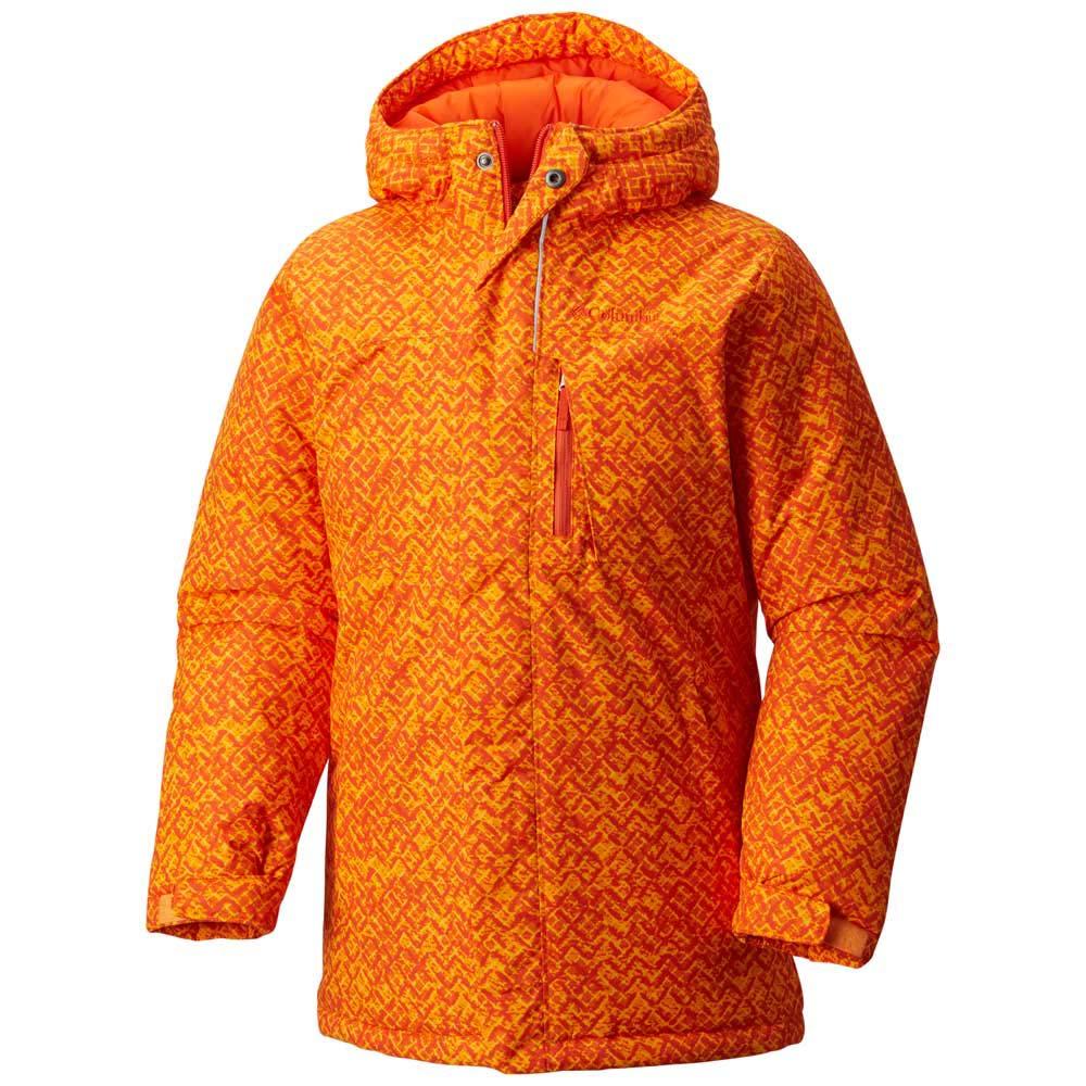 513704acc Columbia Alpine Free Fall Boys Orange buy and offers on Snowinn