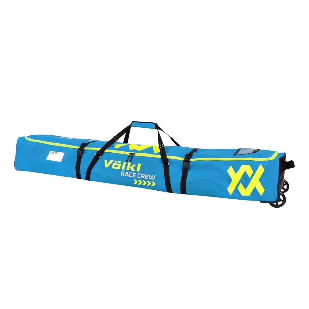 Völkl Race 6 Pair Ski Wheel Bag Blue And Offers On Snowinn
